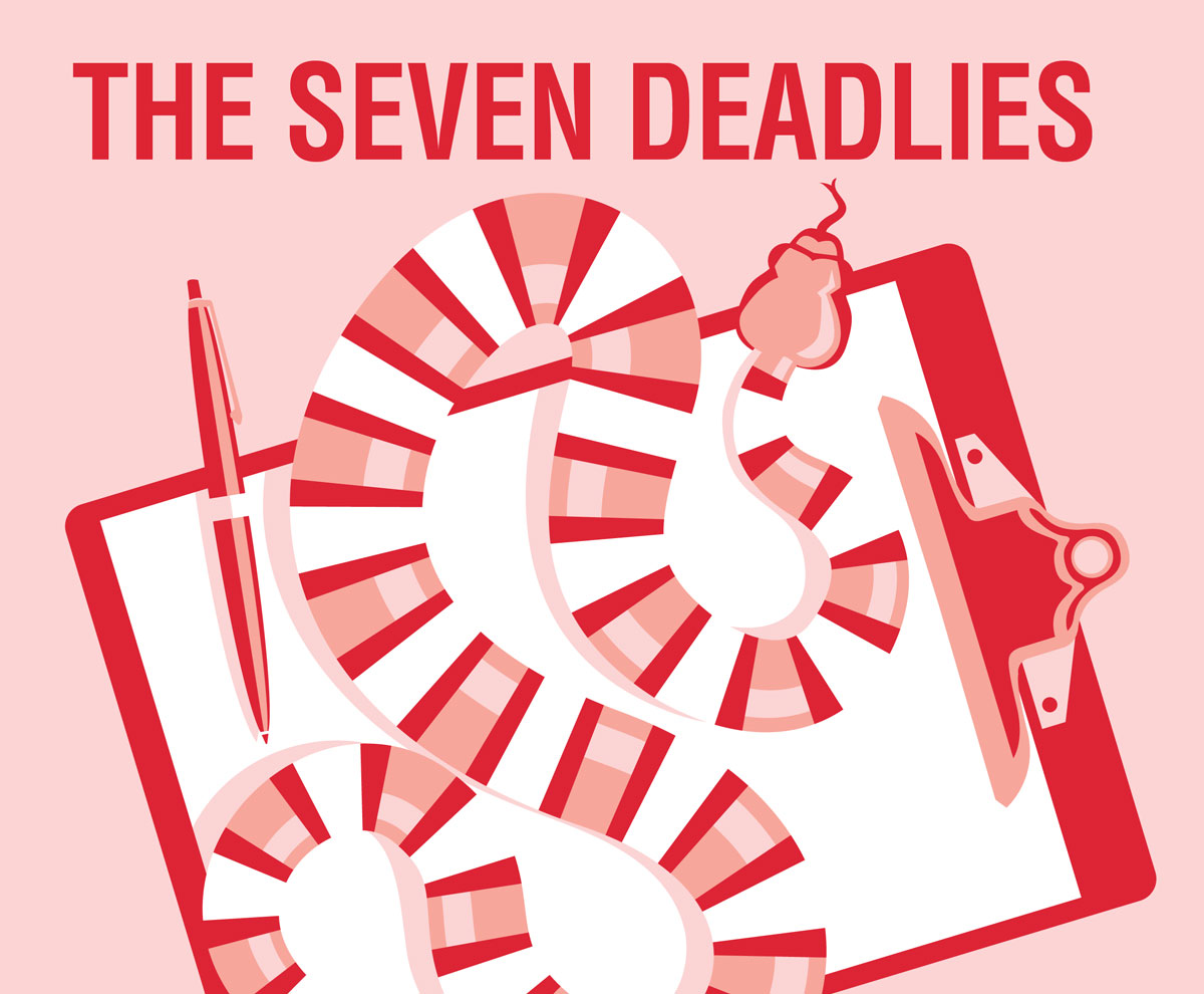 The Seven Deadlies - Illustration